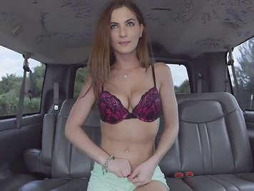 Innocent girls fucked at the van
