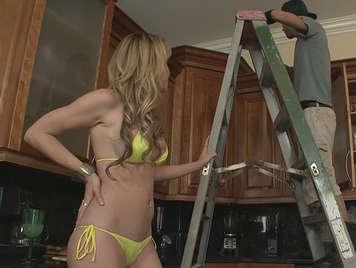 slut  fucks the plumber