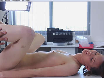 Sensual porn casting with a cute girl