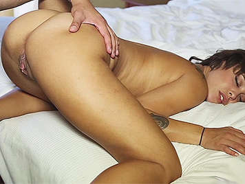Mulatto girl with incredible pussy fucked wildly until it ...