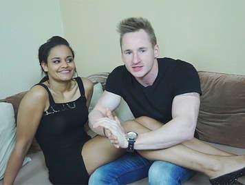 Young Couple Makes A Porno
