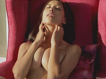 Masturbation of sexy girl Paula Shy