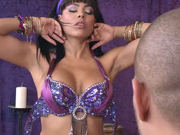 Fucking with a busty indian