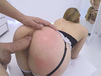 The first anal scene of Daniela Dadivoso