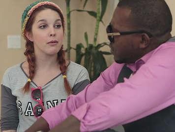 Amarna Miller in interracial porn video
