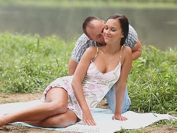 sensual outdoor erotic video with Victoria Sweet