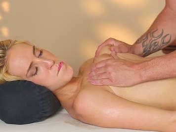Sexual fantasy massage in luxury spa