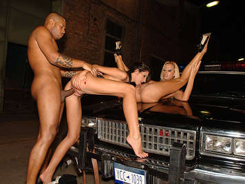 The LAPD is very strict with busty blonde exhibitionist